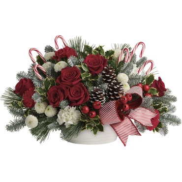 Jolly Candy Cane Bouquet