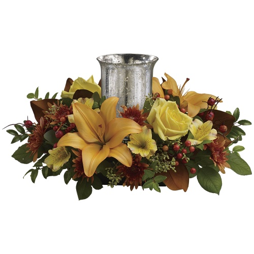 Glowing Gathering Centerpiece